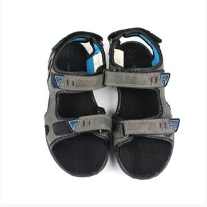 Kids Cherokee Sandals  Size Youth 1 Black & Blue